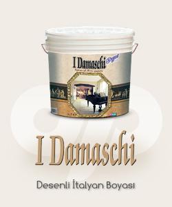 I Damaschi Desenli Boya - Dekoratif İtalyan Boyası
