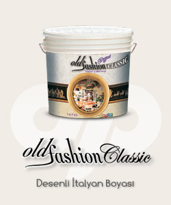 Old fashion classic desenli boya