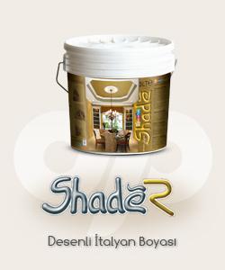 Shade R desenli boya