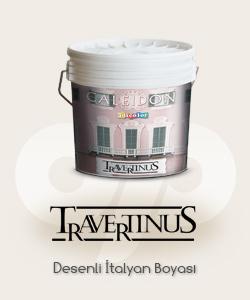 Travertinus P desenli boya