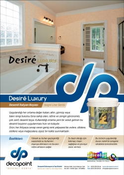 Desire Luxury Duvar Kağıdı Kadar Şık Desenli Boya